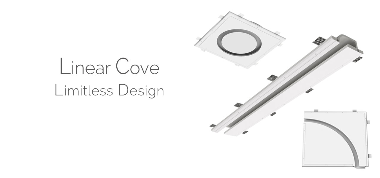 Linear Cove Recessed Lighting