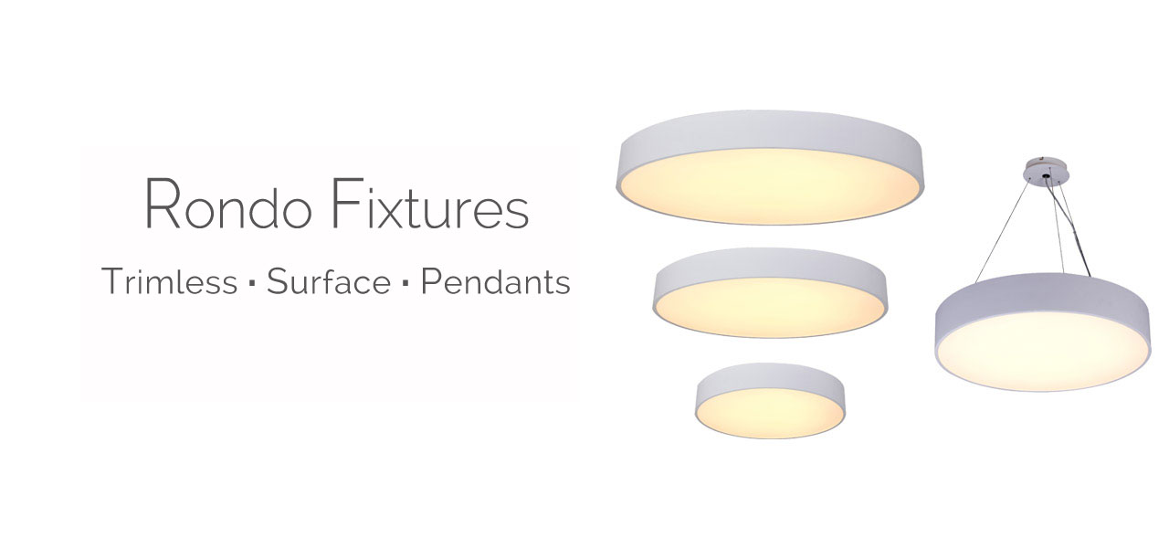 Rondo Fixtures Pendant Recess Lighting